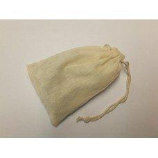 Sacchetto pluriuso in cotone grezzo cm 8x12,5