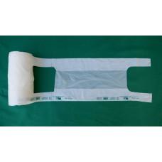 Shopper (sacchetti) biodegradabili e compostabili per ortofrutta - rotolo da 250 pezzi
