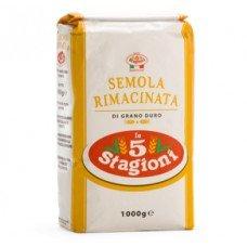 Farina 5 stagioni Semola di grano duro rimacinata - sacco da 10 kg