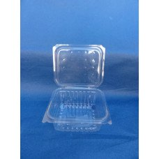 Vaschette biodegradabili e compostabili in pla da 500 ml, cm 13,7 x 12 h 5,5 pz. 600