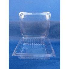 Vaschette biodegradabili e compostabili in pla da 750 ml, cm 18,5x14,5 h 5,2 pz.400