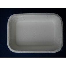 Vaschette biodegradabili e compostabili Biopap® in cellulosa europea SI-02 pz.75