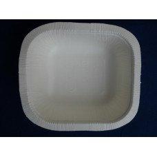 Vaschette biodegradabili e compostabili Biopap® in cellulosa europea LM-03 pz.100