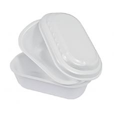Vaschetta per gelato da asporto da cc 750 - pacco da 30 pezzi
