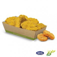 Vaschette biodegradabili e compostabili per fritti e patatine - misura grande - pacco da 50 pezzi