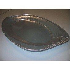 Alluminio vassoi ovali V2 - pacco da 5 pezzi