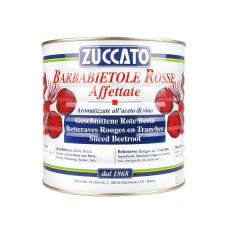 Zuccato barbabietole rosse a fette - vaso latta da ml 2650