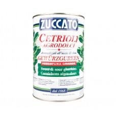 Zuccato cetrioli agrodolci grandi 35/45 pz/latta - vaso latta da ml 4250