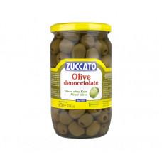 Zuccato olive verdi denocciolate - vaso vetro da ml 720
