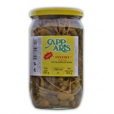 """Frutti di cappero """"Cucunci"""" vaso vetro da 720 ml"""