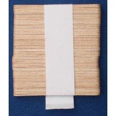 Paletta in legno per caffè anche per distributori automatici da cm 9,3 x 0,9 - fascetta da 50 pezzi