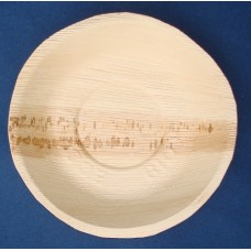 Piatti in foglia di palma da cm 22 - pacco da 25 pezzi