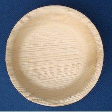 Piatti in foglia di palma da cm 12 - pacco da 25 pezzi