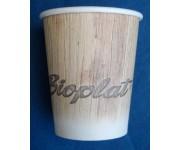 Bicchieri biodegradabili e compostabili 6 oz (215 cc) per bevande calde - pacco da 50 pezzi