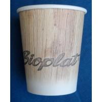 Bicchieri biodegradabili e compostabili 6 oz (215 cc) per bevande calde pz.50
