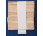 Paletta in legno per caffè anche per distributori automatici da cm 9,2 x 1 pz.50